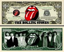 2 Notes Rolling Stones Novelty Million Dollar Notes