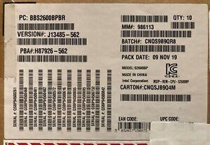 Intel S2600BPBR 2U Rack Socket P High Performance Compute Module NEW BULK PACK