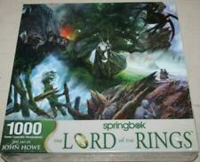 """Springbok """" The Lord of the Rings """" Puzzle 1000 Pieces 33-10882"""