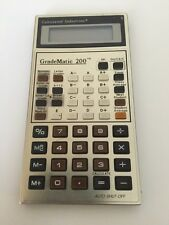 Vintage Calculated Industries GradeMatic 200 Model For Parts
