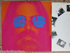 SKY SUNLIGHT SAXON & FIRE WALL -  IN SEARCH OF BRIGHTER COLORS  LP + promo info