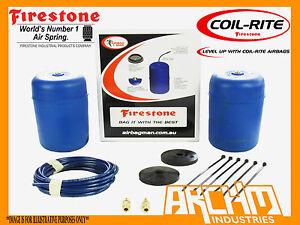 HOLDEN FRONTERA MJ, MX, UT REAR FIRESTONE COIL RITE AIR SUSPENSION ASSIST BAGS
