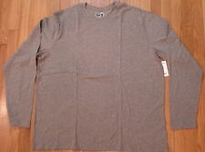 NWT Top Drawer Long Sleeve Grey Tee Sz XXL, 100% Soft Cotton (422)