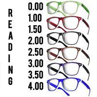 Reading Glasses +1.5 +2.5 Unisex  20 Models Trendy Designer Spring Men Women
