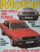 Motor magazine 3/9/1977 featuring SAAB road test, Ford Granada