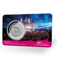 Nederland 2019 penning in coincard PINKPOP 50 jaar Limited Edition medal