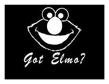 GOT ELMO 5X5 CUTE SESAME STREET MAC BOOK I PAD KIDS JDM LAPTOP CAR DECAL STICKER