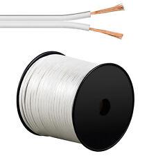Lautsprecherkabel weiß 2x4,0 mm² 100m Spule