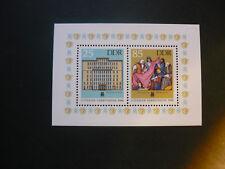 DDR 1986 -  Mi.Nr. 3038 - 3039  Block 85 Leipziger Herbstmesse  postfrisch (196)