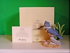LENOX FEMALE BELTED KINGFISHER Bird sculpture NEW in BOX with COA
