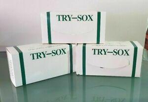 Disposable Socks - 100% Nylon - Try on Socks - Beige Colour (100 Pcs / Box)