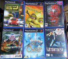 Sony PlayStation PS 2 Games Bundle Job Lot 4