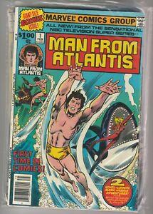 Man From Atlantis Set # 1 - 7 1978 Marvel NBC TV Series Patrick Duffy