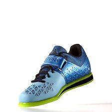 adidas Performance Men Powerlift.3 Cross-Trainer Shoe Blu//White/Green 8.5 M