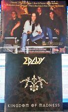 Edguy - Kingdom Of Madness (CD, 1996, CD-Maximum Ltd., Russia)