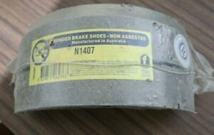 NEW BRAKE BONDERS BRAKE SHOES -N1407 - FITS DAIHATSU SCAT - FREE AUS POST