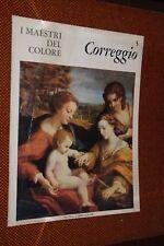 CORREGGIO n. 5 1963 I MAESTRI DEL COLORE FABBRI L8 ^