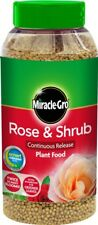 Miracle Gro 100065 Rose and Shrub Continuous Release Plant Food 1kg Shaker Jar