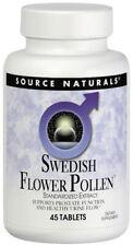 SOURCE NATURALS - Swedish Flower Pollen Extract - 45 Tablets