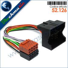 Cavo adattatore ISO autoradio per Mini Cooper [1] R50 (2001-2007) conn. QUADLOCK