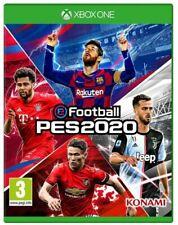 EFOOTBALL PES 2020 XBOX ONE GIOCO ITALIANO PRO EVOLUTION SOCCER 2020 EU NUOVO