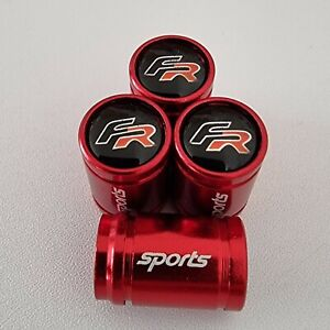 SEAT FR SPORTS Dust Valve Caps all models 7 colours Red Leon F1