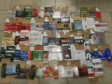 40 different types of shotgun shell empty boxes