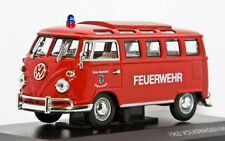 "Volkswagen minibus ""Fire"" 1962. In box 1:43 diecast scale model"