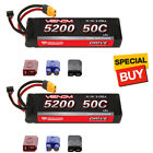 Venom DRIVE LiPo Battery 3S 11.1V 5200mAh 50C w/ Universal 2.0 Plug (2)