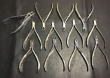 "Lot 12 Vtg 6 Revlon, 1 Rex Cutlery Paris, 1 CutieCut, 1 Trim 4"" Cuticle Nippers"