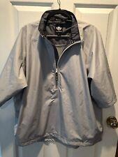 Sunice Typhoon Gray 1/4 Zip Golf Mesh Lined Pullover Mens XL Short Sleeve