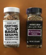 Trader Joe's Everything but the Bagel & 21 Seasoning Salute-Two spice COMBO pack