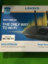 (New) LINKSYS AC1750 MU-MIMO EA7400 GIGABIT ROUTER NEXT-GEN AC MAX-STREAM