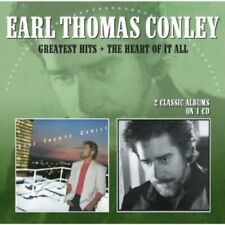 Earl Thomas Conley - Greatest Hits / The Heart Of It All [CD]