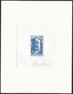 Malagasy Sc416 Aga Khan Mosque, Tananarive, Architecture, Signed Die Proof