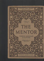 Mentor Magazine October 20 1913 #36 Famous American Sculptors