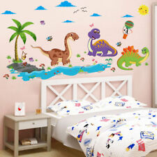 Dinosaurs Kids Wall Decal Removable DIY Sticker Mural Nursery Bedroom Decor