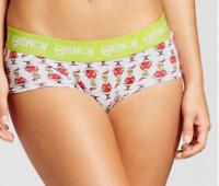 The GRINCH Christmas Themed Ladies Women's Panties Underwear ~ XS S M L XL