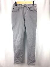 Levi's Girls Sz 16 R 28x28 Grey 510 Super Skinny Denim Jeans