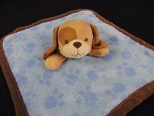 Koala Baby Blue Brown Puppy Dog Lovey Baby Security Blanket Fleece Paw Print