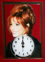 Horloge pendule star mylene farmer 4 clock uhr reloj