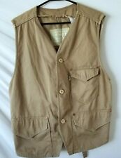 Levi Strauss Beige Men's Denim Vest Size Large