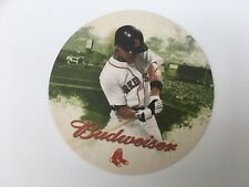 Budweiser Boston Red Sox US Beer Mat Coaster Sous Bock Bierdeckel
