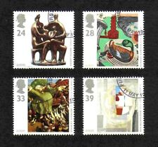 Great Britain 1993 Europa/ Art complete set of  values (SG 1767-1770) fine used