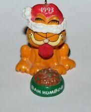 "ENESCO GARFIELD BAH HUMBUG CAT ORNAMENT 2 1/4"" 1993"