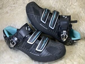 BONTRAGER RL INFORM WOMEN'S Cycling Shoes BLACK Size 7.5 SUPER CLEAN NO WEAR