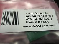 4 x Toner Chip for Xerox 240 242 250 252 260 7655 7665 7675 7775 Refill