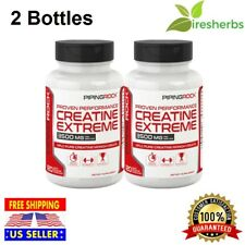 Creatine Monohydrate Capsules Muscle Growth Bodybuilding Supplement 3500mg 240Ct