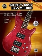 Alfred's Basic Bass Method: Complete (Alfred's Basic Bass Guitar-ExLibrary