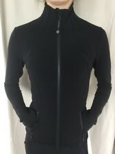 LULULEMON Size 2 Define Jacket Black Luon Zip Up Shape Stride Run Fitness NWT